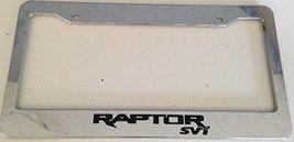 Raptor Svt Racing - Automotive Chrome License Plate Frame - Off Road Mud - $15.99
