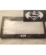Batman Meets Superman Hybrid - Automotive Black License Plate Frame - Co... - $15.99