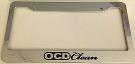 Ocd Clean Jdm Style - Automotive Chrome License Plate Frame - Drift - $15.99