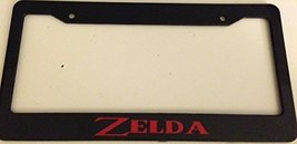Zelda Words Version - Automotive Black with Red License Plate Frame - Classic... - $15.99