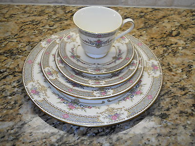 Primary image for Minton Parsian Rose 5 piece place setting