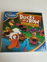 Thinkfun Ducks In A Row Sealed New The Quacky Strategy Game - $34.29