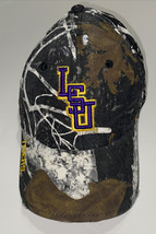Louisiana State University LSU Ball Cap Camo  Embroidered Adjustable Bac... - $19.79