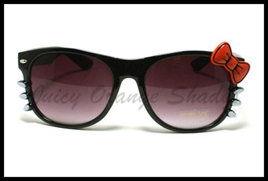 KITTY Sunglasses for WOMEN RIBBONS and WHISKERS CUTE Design NEW