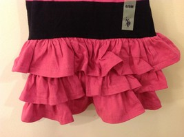U.S. POLO Ralph Lauren Baby Girl Pink Black Dress with Panties size 6-9 month image 4