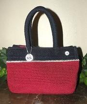 THE sak Red White & Blue Baguette Handbag - $21.77
