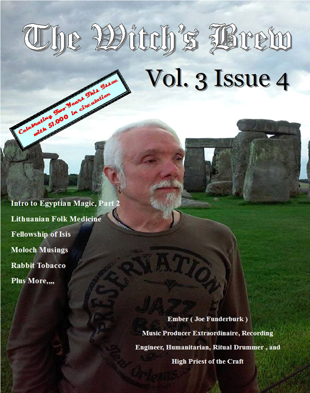 The Witch's Brew, Vol 3, Issue 4 (Pagan Magazine Oct., November, December 2015)