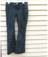 No Boundaries Ladies' Black Jeans Size 9, Regular Classic Rise, Straight... - $12.37