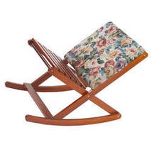 Deluxe Foldable Rocking Footrest-Tapestry - $76.23