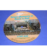 Live Aid Vintage Cardboard Phonograph Record 1986 - $19.99