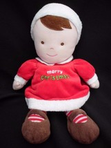 "Carter's Just One Year Plush 10"" MERRY CHRISTMA... - $12.69"