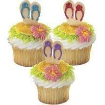 Flip Flops Cupcake Toppers - $4.38