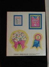 Barbie doll paper accessories cardboard punch outs 1996 high school student - $6.99