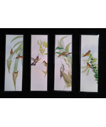 Hummingbird Theme Bookmarks, Set of Four. Laminated 2x6 Full Color - $5.99