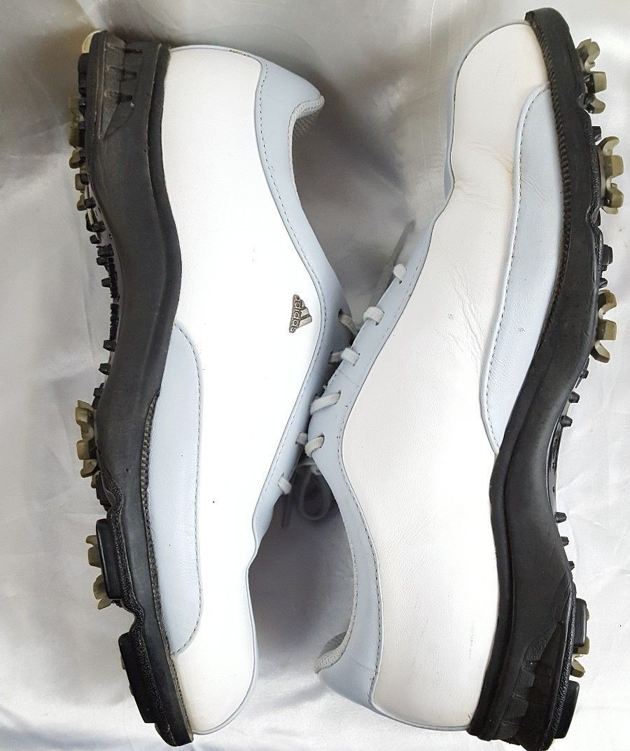 ba64eaeb806 Golf Shoes Adidas Z Traxion 6.5 White Blue and 50 similar items. 57