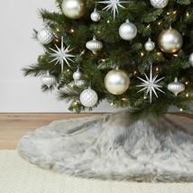 40ct Silver Shatter Proof Resistant Christmas Tree Ornament Set Wondershop NEW image 2