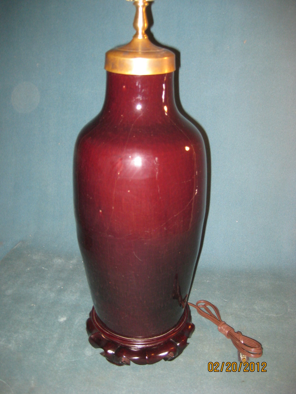 Ox blood lamp 006
