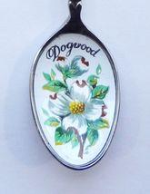 Collector Souvenir Spoon Canada BC Coat of Arms Flag Emblem Dogwood Bowl - $12.99