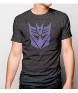 The Transformers 80's Anime TV Show Decepticon Logo Symbol Heather SOFT ... - £12.42 GBP+