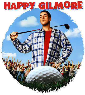 Happy Gilmore T shirt retro 90's golf movie 100% cotton graphic tee