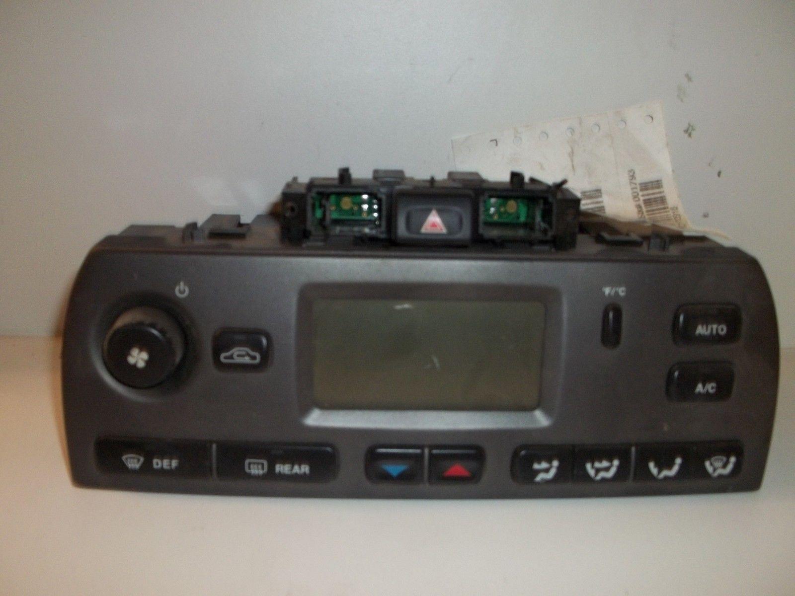 TYPE TEMPERATURE CONTROLS FACTORY OEM A/C & Heater Controls #60463A