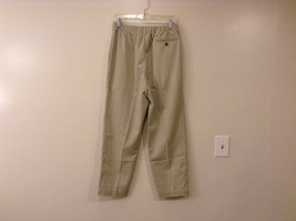 L.L.Bean Ladies Khaki Gray Casual High Waist, NO Size Tag (see measurements) image 2