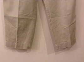 L.L.Bean Ladies Khaki Gray Casual High Waist, NO Size Tag (see measurements) image 4
