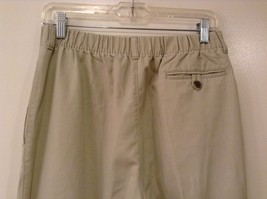 L.L.Bean Ladies Khaki Gray Casual High Waist, NO Size Tag (see measurements) image 5