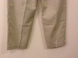 L.L.Bean Ladies Khaki Gray Casual High Waist, NO Size Tag (see measurements) image 6