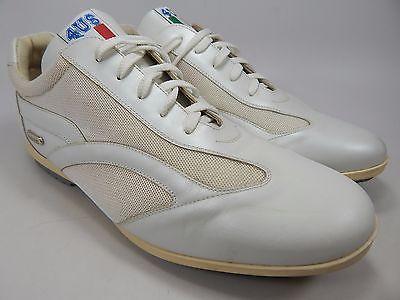 Cesare Paciotti Men's Leather Casual Shoes US Size 7 M (D) EU 40 White