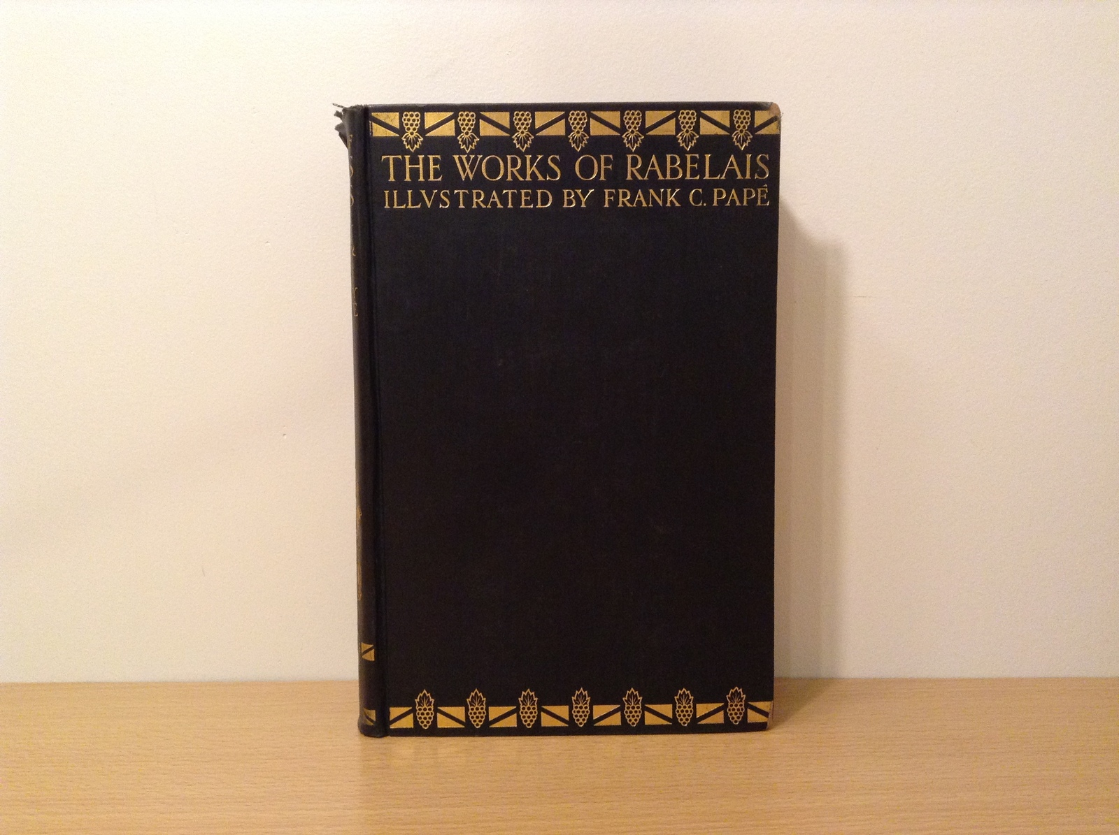 Vintage The Works of Rabelais 1927 Volume Two Printed in Great Britain