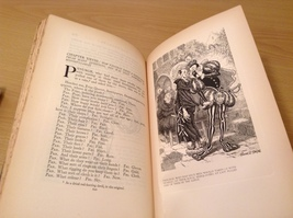 Vintage The Works of Rabelais 1927 Volume Two Printed in Great Britain image 10