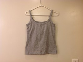 Best Fitting Undershirt Gray Stretchable Cotton Tank Top with Underbra size L image 1
