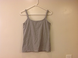 Best Fitting Undershirt Gray Stretchable Cotton Tank Top with Underbra size L image 2