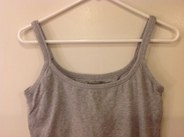 Best Fitting Undershirt Gray Stretchable Cotton Tank Top with Underbra size L image 3