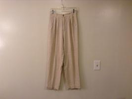 STYLE New York Ladies Linen / Rayon Dress Pants size 8