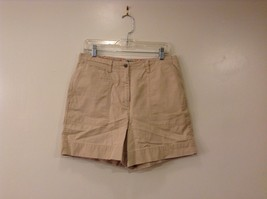 Ralph Lauren 100% Cotton Beige Jean Shorts size 10