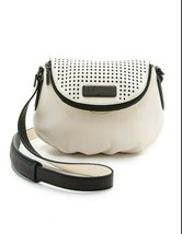 Marc by MARC JACOBS New Q Perforated Mini Natasha Bag  Black/Milk - $130.48