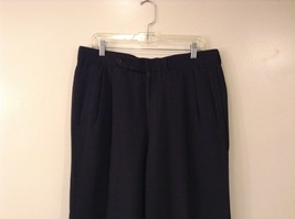 Giorgio Armani Mens Dark Gray Wool Dress Pants size EUR 42 (see measurements) image 3