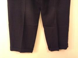 Giorgio Armani Mens Dark Gray Wool Dress Pants size EUR 42 (see measurements) image 6