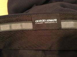 Giorgio Armani Mens Dark Gray Wool Dress Pants size EUR 42 (see measurements) image 7