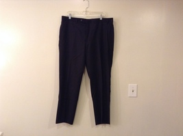 Calvin Klein Mens Slim Fit Black 100% Wool Dress Pants, size 38Wx30L - $39.99