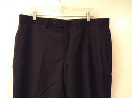 Calvin Klein Mens Slim Fit Black 100% Wool Dress Pants, size 38Wx30L image 3