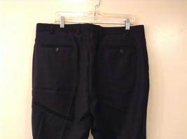 Calvin Klein Mens Slim Fit Black 100% Wool Dress Pants, size 38Wx30L image 5
