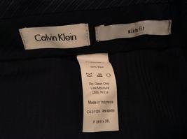 Calvin Klein Mens Slim Fit Black 100% Wool Dress Pants, size 38Wx30L image 7