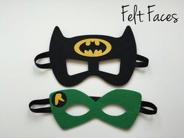 (2) Batman Dark Knight Mask Robin Favors Birthday Decoration Party Supplies - $4.95