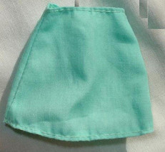 Barbie doll clothes plain mini skirt with pink B tag - $6.99