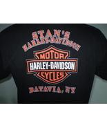 Harley-Davidson Black T-Shirt Large Batavia, NY - $15.00