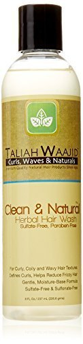 Taliah Waajid Curls, Waves and Naturals Herbal Hair Wash, 8 Ounce