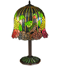 "23""H Tiffany Honey Locust Base Table Lamp - £433.75 GBP"